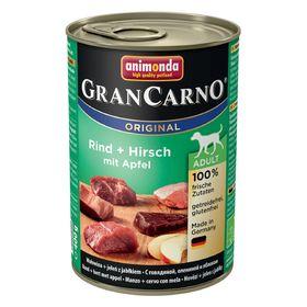Влажный корм Animonda Gran Carno Original Adult для собак, говядина/оленина/яблоко, 400 г