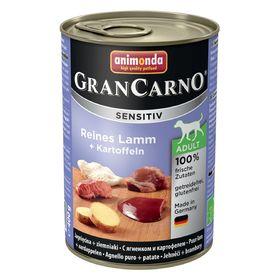 Влажный корм Animonda Gran Carno Sensitiv для собак, ягненок/картофель, ж/б, 400 г
