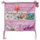 Подвесные карманы в детскую «Капитошка», цвет розовый КШК03-002
