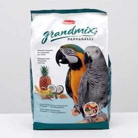 Корм комплексный/основной Padovan GRANDMIX Pappagalli для крупных попугаев, 2 кг.