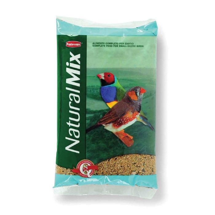 Корм основной Padovan NATURALMIX Esotici для экзотических птиц, 1 кг.