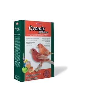Корм комплексный Padovan OVOMIX GOLD Rosso для птенцов с красным оперением, яичный, 300 г.