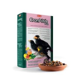 Корм комплексный Padovan GRANPÂTÉE Fruits для насекомоядных птиц, фрукты, 1 кг.
