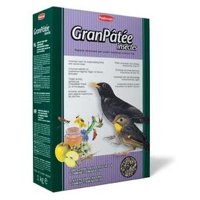 Корм комплексный Padovan GRANPÂTÉE Insectes для насекомоядных птиц, 1 кг.