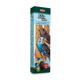 Лакомство Padovan STIX HERBS для волнистых попугаев и экз. птиц, палочки антистресс