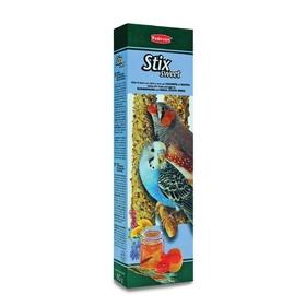 Лакомство Padovan STIX SWEET для попугаев и экз. птиц, палочки, 80 г.