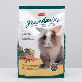 Корм Padovan  GRANDMIX Coniglietti для кроликов, комплексный/основной, 3 кг.