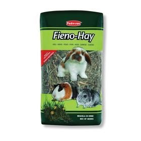 Сено Padovan  FIENO-HAY луговые травы для крупных грызунов , 1кг/20л