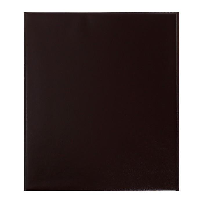 """Альбом (кляссер) для марок """"Коллекция"""" 230x270мм Optima с комплектом листов, обложка ПВХ"""