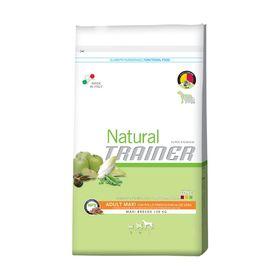 Сухой корм Trainer Natural Maxi Adult Chicken, Rice and Aloe Vera курица/рис/алоэ вера, 3 кг