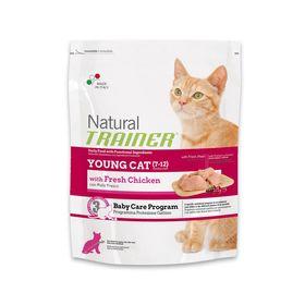 Сухой корм Trainer Natural Young Cat для молодых кошек от 7 до 12 месяцев, 1,5 кг