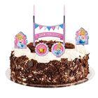 """Свеча в торт Дисней """"С Днем Рождения"""" 2 свечи, Принцессы: Золушка"""