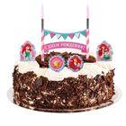 """Свеча в торт Дисней """"С Днем Рождения"""" 2 свечи, Принцессы: Ариэль"""