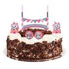 """Свеча в торт Дисней """"С Днем Рождения"""" 2 свечи, Коты аристократы"""