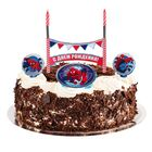 """Свеча в торт """"С Днем Рождения"""" 2 свечи, Человек-паук"""