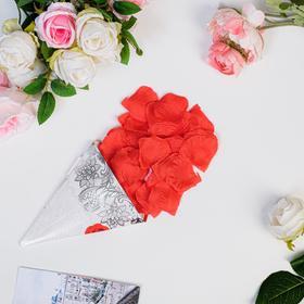 Rose petals sack, red
