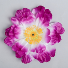 Цветы искусственные для декора, цвет сиреневый
