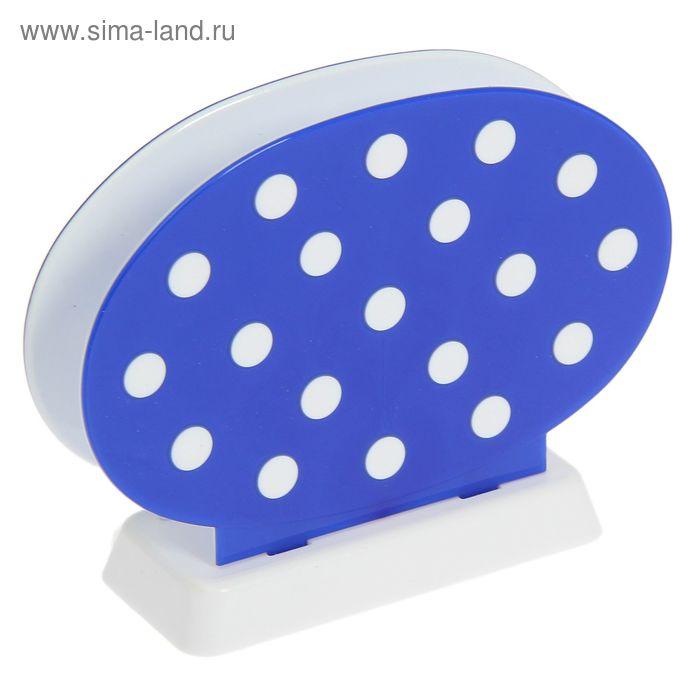 Салфетница Marusya, цвет синий полупрозрачный