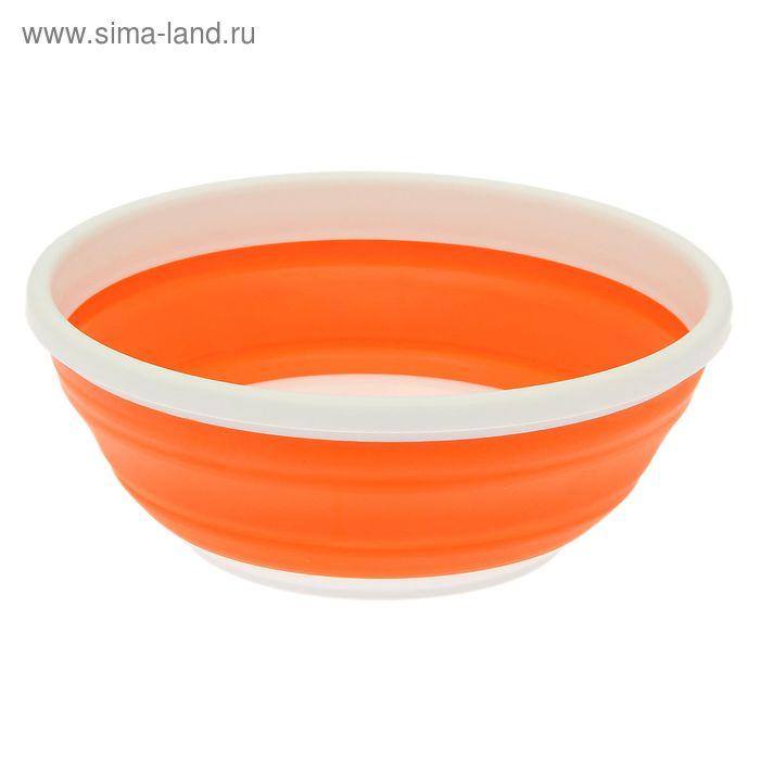 Пиала 0,7 л складная Compact, цвет мандарин