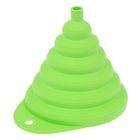 Воронка складная d=13 см, цвет салатный