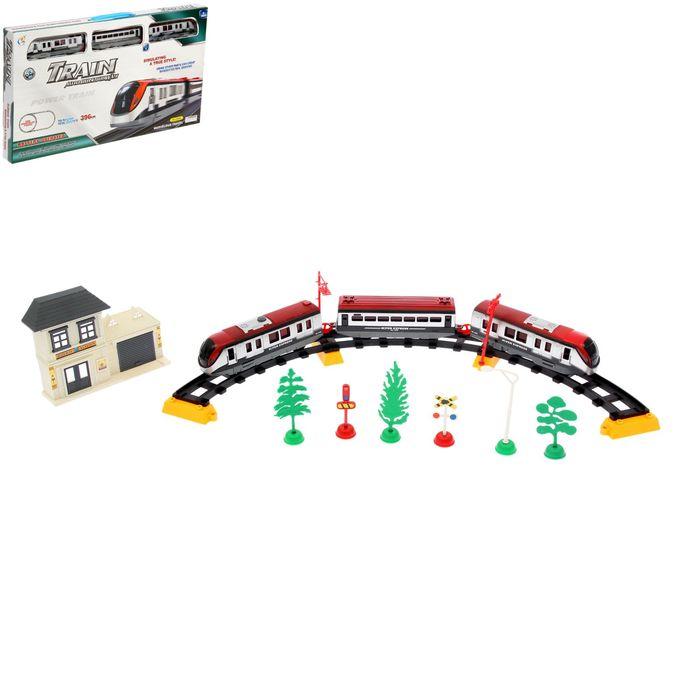 """Железная дорога """"Метрополитен"""" со световыми эффектами, протяжённость пути 3,96 м"""