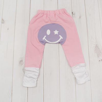Штанишки для подгузников Yuumi, рост 104-110 см, цвет фиолетовый Брфт-200416-4_М