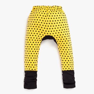 Штанишки для подгузников Yuumi Майя, рост 74-80 см, цвет жёлтый БрМайя-200416_М