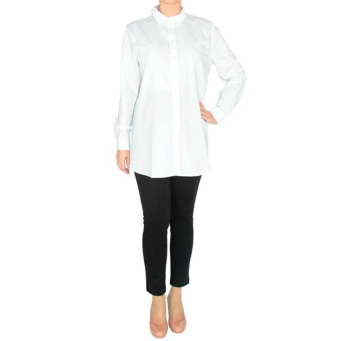 Блузка женская 3069312170 цвет белый, р-р 54