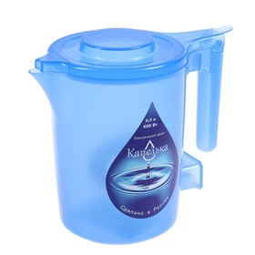 Чайник электрический 'Капелька', 600 Вт, 0.5 л, синий Ош