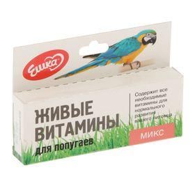 Живые витамины 'Ешка Микс' для попугаев, овес, пшеница, ячмень, 20 г Ош
