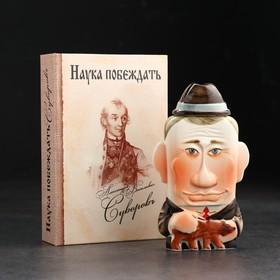 {{photo.Alt || photo.Description || 'Штоф фарфоровый «Путин», 0.35 л, в упаковке книге'}}