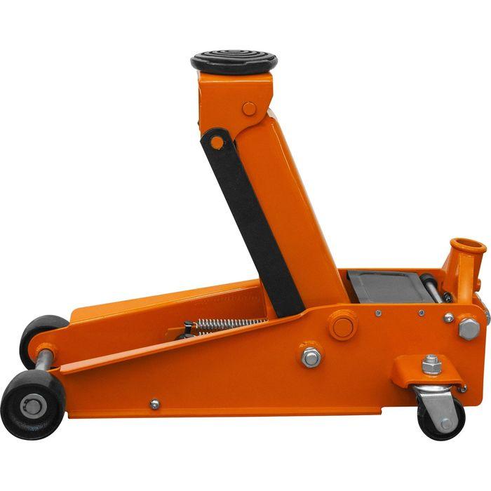 Домкрат подкатной Ombra OHT230, гаражный, двухпоршневой, 3 т, 133-485 мм