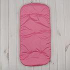 Матрас в коляску меховой, цвет розовый 1-1МХ