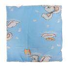 Подушка детская, размер 40*40 см, цвет голубой 12-2С
