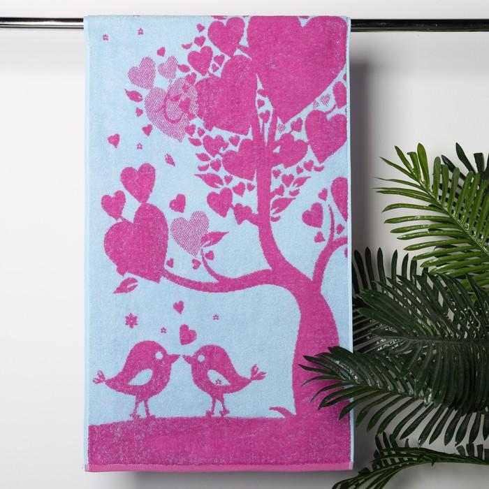 Полотенце махровое Love Tree, 50х90, хл 100%, 420 гр/м