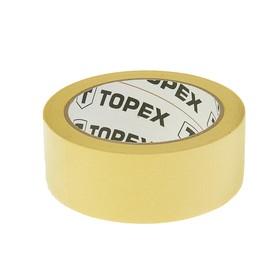 Лента малярная TOPEX, 38 мм x 35 м, цвет желтый