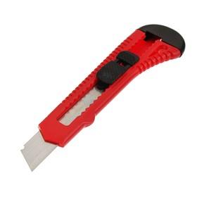 Universal knife Top Tools, plastic case, square retainer, 18 mm.