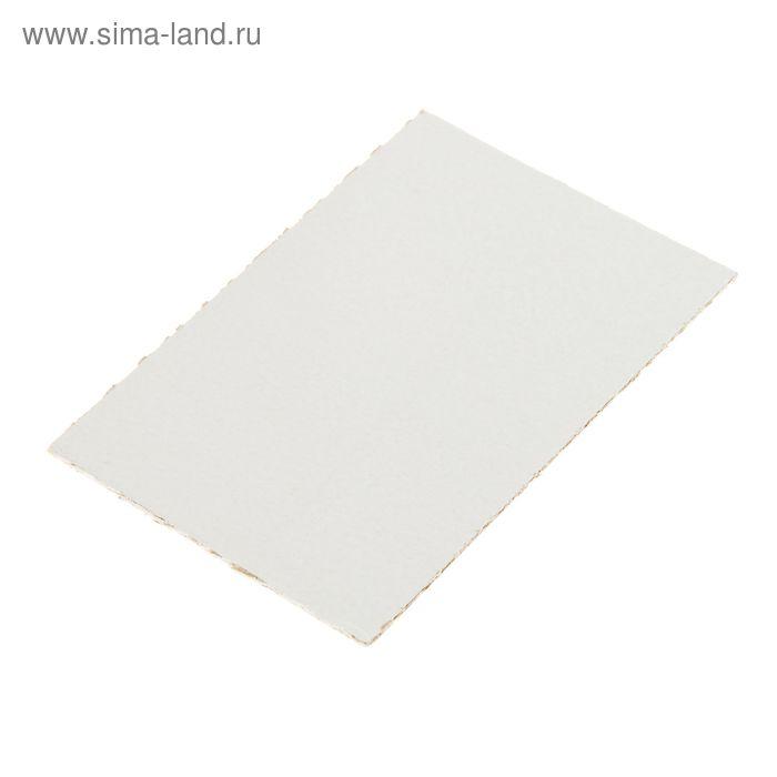 Картон грунтованный акрил 10*15 cм двухсторонний (2 мм)