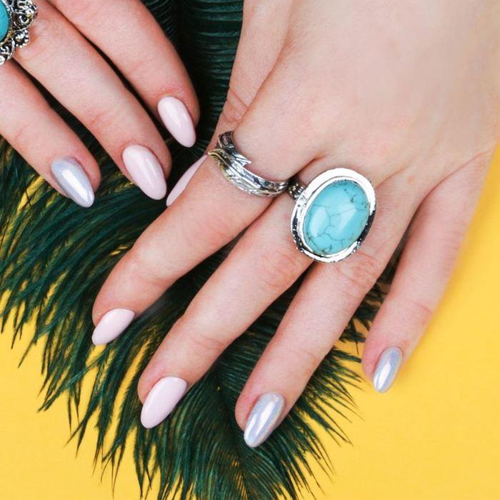 Кольцо ''Ива'', безразмерное, цвет чернёное серебро 1918452