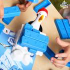 Настольная игра падающая башня «Льдины пингвина» - фото 105620186