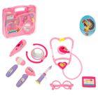"""Игровой набор доктора """"Маленькая медсестра-1"""", розовый, работает от батареек"""