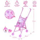 Игровой набор: коляска-трость для куклы и аксессуары, пластик, феи ВИНКС: Блум