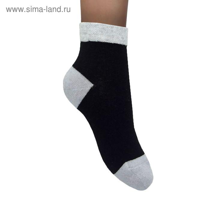 Носки детские 15Д чёрный, размер 14-16