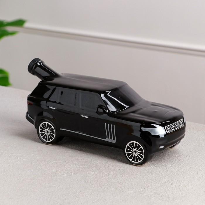 """Штоф """"Машина Ренджик"""", чёрный, 1 л"""