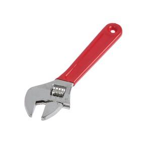 Ключ разводной LOM, обрезиненная рукоятка, 150 мм