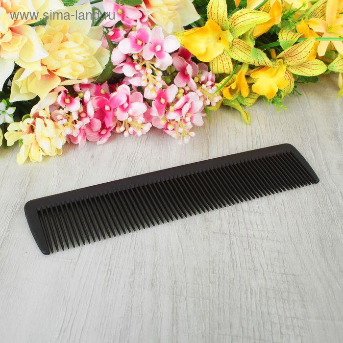 Расчёска простая, цвет чёрный