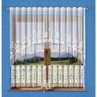 Комплект штор, размер 300 × 150 см - 1 шт, 150 × 50 см - 2 шт, белый