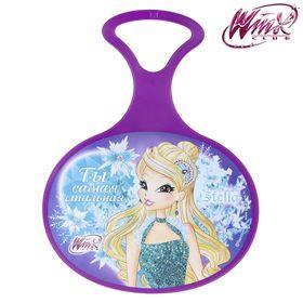 Ледянка 'Ты самая стильная', Феи ВИНКС: Стелла, 310 х 410 х 4 мм, цвет фиолетовый Ош