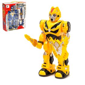 "Robot ""Autobot"", light and sound effects, walks, MIX"