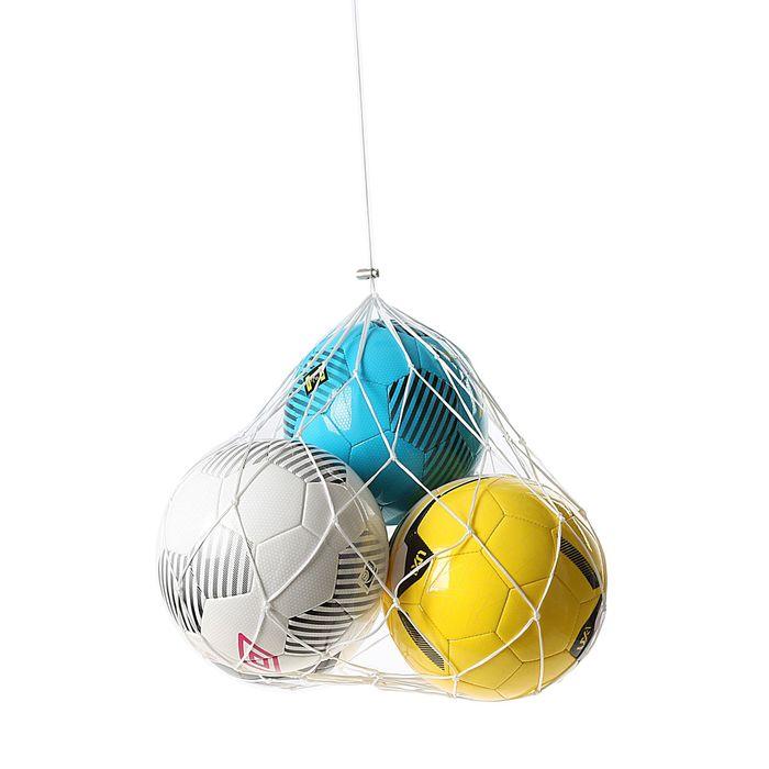 Сетка на 5-7 мячей, 2 мм ПП, ячейка 10 см